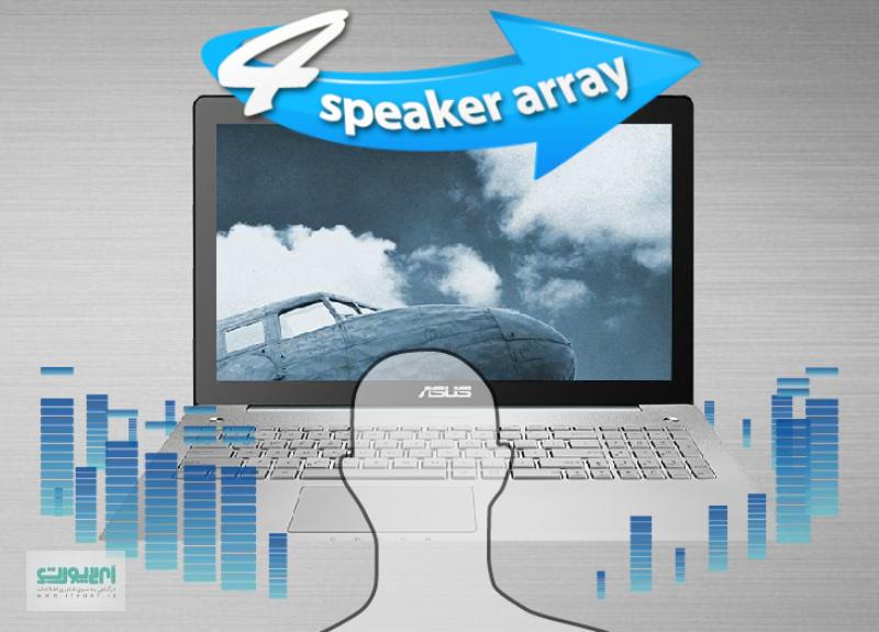 بررسی لپ تاپ N550 ایسوس ; لپ تاپی مناسب برای یک گرافیست حرفه ای