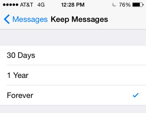 چگونه پیامها و نوشتههای ذخیره شده در iOS را پاک کنیم؟