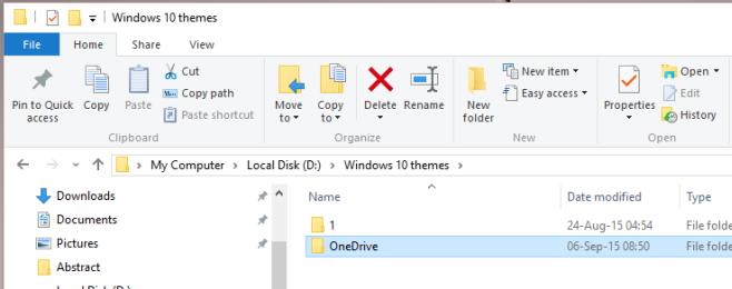 محل ذخیره سازی OneDrive