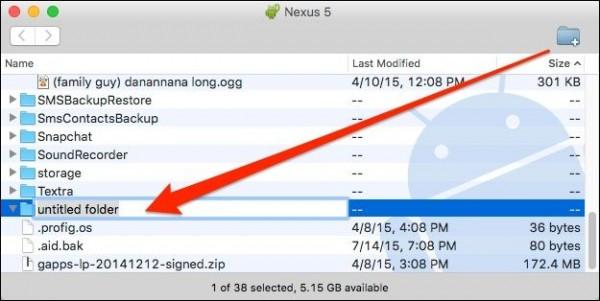 انتقال فایل از اندروید به مک و برعکس