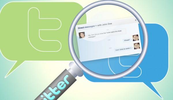 پیامهای مستقیم توییتر