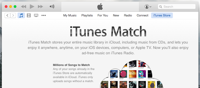 iTunes Match and Apple Music
