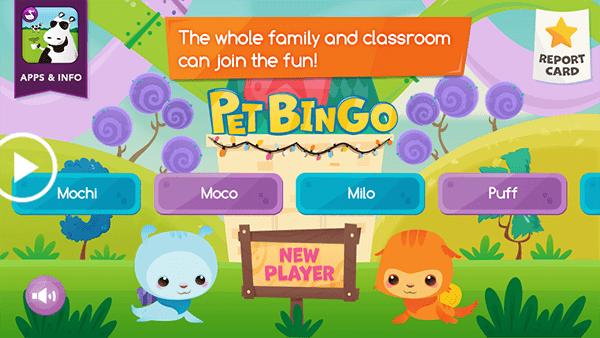 Pet Bingo by Duck Duck Moose